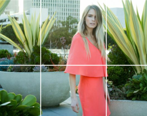Coral Faux Cape Dress