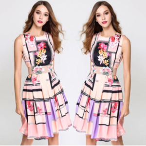 Candy Dress with Belt