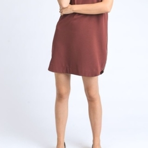 Marsala Zippered Tunic