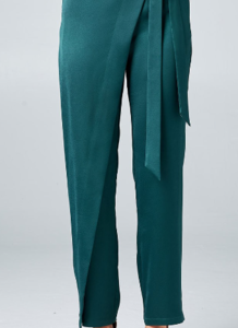 The Envelope Sateen Pant