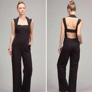 Black  Halter Jumper